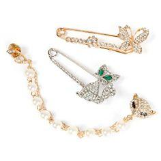 BMC 3pc Womens Gold+Silver Alloy Metal Rhinestone Fashion Safety Pin Brooches: Fox-Cat-Butterfly b.m.c,http://www.amazon.com/dp/B00F4E11VE/ref=cm_sw_r_pi_dp_CVyitb0WMHRYKESA