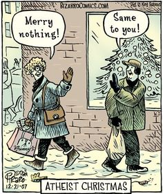 Merry Nothing ... and a Happy New Slide into Oblivion!☺