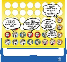 Today on Adult Children - Comics by Stephen Beals Children's Comics, Adult Children, Kids, Non Sequitur, Comic Strips, Young Children, Boys, Comic Books, Children