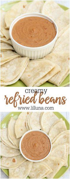 Creamy Refried Beans