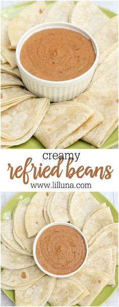 Creamy Refried Beans