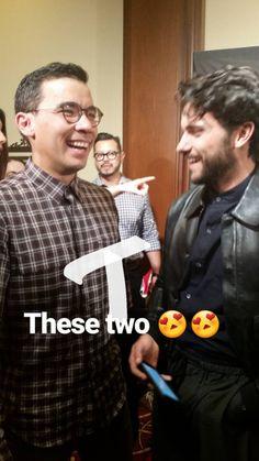 Conrad Ricamora & Jack Falahee on the HTGAWM Instagram Story - September 20, 2016