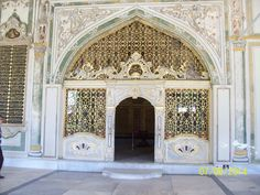 The doorway into the Grand Harem, Topkapi Palace, Istanbul.