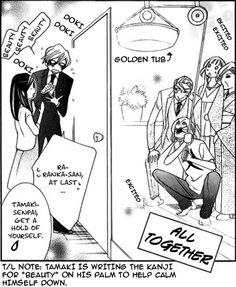 When Tamaki went to ask for permission (Ouran High School Host Club) Hahah XD