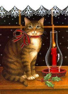 Christmas Kitty ~  Stephanie Stouffer