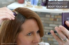 Temporarily conceal your roots and grays in between salon visits with Root Touch Up from #MadisonReed. See it in action! #haircolor (SABBIA - Light Golden Brown) http://bit.ly/1xy4dfm