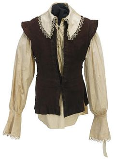 A Don Ameche shirt and vest from The Three Musketeers