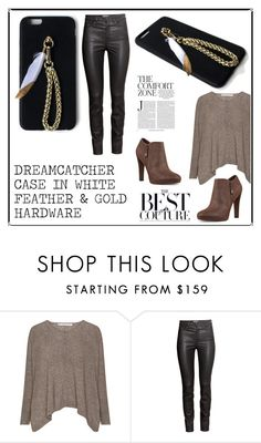 """""""SHOP - Brass Paper Smith"""" by ladymargaret ❤ liked on Polyvore featuring H&M and Nine West"""