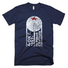1st Sputnik American Apparel T-Shirt