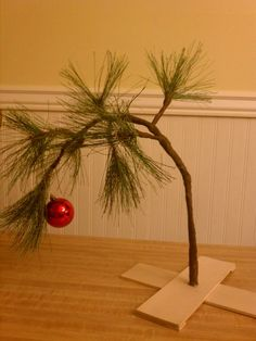 An Instructable for Charlie Brown's Christmas Tree