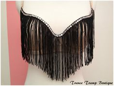 Fringe Bra by TranceTrampBoutique on Etsy, $39.99