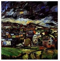 Peter Prendergast, Carneddi on a Summer Day, typical welsh landscape. Landscape Art, Landscape Paintings, Landscapes, Figurative Art, Abstract Expressionism, Painting Inspiration, Art Pictures, Painting & Drawing, Printmaking