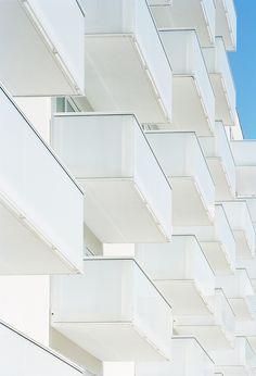 Logements et chapelle Zac Seine Arche   ECDM architects   Archinect