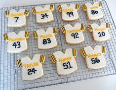 Superbowl Sugar Cookies with Royal Icing