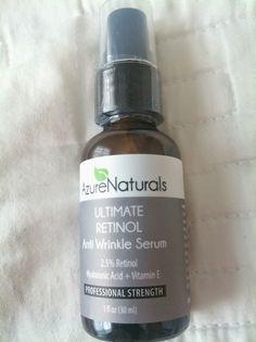 AzureNaturals Ultimate Retinol Anti Wrinkle Serum (full review at link)