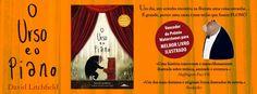 Sinfonia dos Livros: Novidade BookSmile | O Urso e o Piano | David Litc...