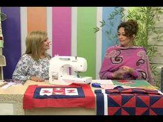 Capa de Almofada com Patrícia Washington e Tapete Ursa com Maria José | Vitrine do artesanato na Tv - YouTube