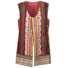 1980s Handmade Rajasthan Gilet | From a collection of rare vintage vests at https://www.1stdibs.com/fashion/clothing/jackets/vests/