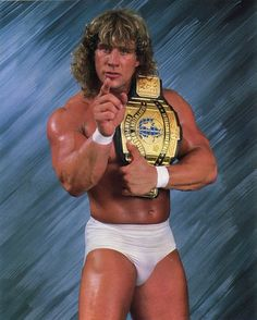 The Texas Tornado - Kerry Von Erich. WWE Wrestler. D1993.