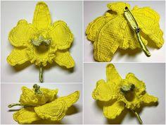 Irish crochet &: CROCHET ORCHID....ОРХИДЕЯ КРЮЧКОМ