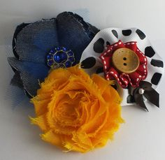 Toy Story Woody and Jessie Inspired Cowbow by FairyTaleHairClips, $8.99
