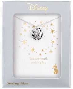 Disney Engraved Frozen Snowflake Pendant Necklace in Sterling Silver - Necklaces - Jewelry & Watches - Macy's Disney Princess Jewelry, Disney Couture Jewelry, Disney Jewelry, Stylish Jewelry, Cute Jewelry, Jewelry Accessories, Fashion Jewelry, Harry Potter Jewelry, Disney Designs