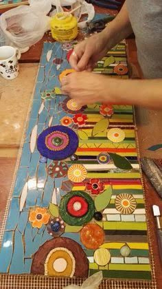 Resultado de imagem para mandalas raros en mosaicos