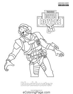Fortnite Rifle Scar Coloring Page Fornite En 2019 Free