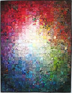 Exuberant Color: colorwash quilt