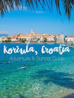 A complete tour guide& guide to Korcula, Croatia - complete with all the best places to eat, adventure, watch the sunset, and go out at night! Travel Tours, Travel Guides, Travel Destinations, Holiday Destinations, Napa Valley, Cool Places To Visit, Places To Travel, Niagara Falls, Travel Photographie