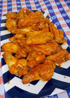 Beer Brined Chicken Wings {Football Friday} | Plain Chicken