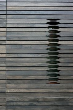 Articles about facade focus wood. Dwell is a platform for anyone to write about design and architecture. Detail Architecture, Interior Architecture, Interior And Exterior, Mobile Architecture, Building Architecture, Interior Design, Cottage House Designs, Cottage Homes, Timber Cladding