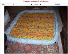 Felice di essere una stramba mamma: tappeto per neonato