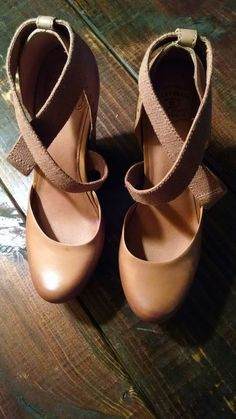 a556a11cfc0 Lucky Women s Shoes Size 11 Platform Wedges Nana Closed Toe Leather Camel   LuckyBrand  PlatformsWedges