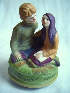 Love Story Theme Music Box 1970 by TheModPasse on Etsy, $15.00