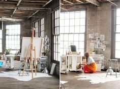 Katie Stratton's Studio Space