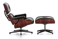 Lounge Chair. Design: Charles & Ray Eames, 1956. Hersteller: Vitra