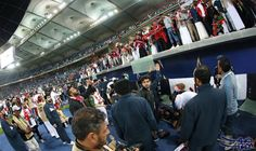 إصابة 15 مشجعا عُمانيا أثناء الاحتفالات باللقب الخليجي: تسبب انهيار حاجز زجاجي بالمدرج الشرقي لاستاد جابر الدولي في الكويت، في سقوط نحو 15…