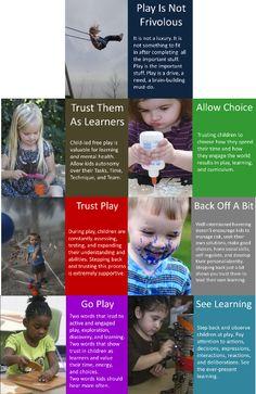 Let Them Play Poster Set - Explorations Early Learning Shop LOVE, LOVE, LOVE, LOVE, LOVE THIS!!!!!! This is soooooo true!