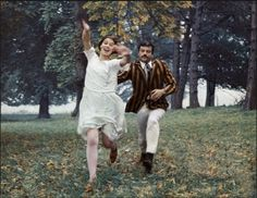 Glenda Jackson and Oliver Reed in Women in Love (Ken Russell, 1969)