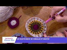 Sibel Kavaklıoğlu'ndan tığ işi motif hırka yapımı Ezgi Sertel'le Kadınlar Bilir'de - YouTube