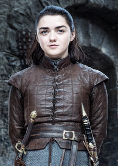 Arya Stark George R. Martin commenced a fantasy selection of textbooks below the url Arte Game Of Thrones, Game Of Thrones Arya, Game Of Thrones Costumes, Game Of Thrones Cosplay, Maisie Williams, Eddard Stark, Ned Stark, Sansa Stark, Dany And Jon