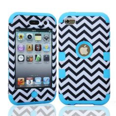 MagicSky Plastic Silicone Hybrid Chevron Pattern Case for Apple iPod Touch 4 4th Generation - 1 Pack - Retail Packaging - Blue MagicSky,http://www.amazon.com/dp/B00IARZZ8M/ref=cm_sw_r_pi_dp_XPOGtb0X79ZD7N6S