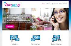 Webrestyle voor telecombedrijf Vibernet.nl http://www.navienbansi.nl/blog/  #webdesign #branding #wordpress #online #marketing