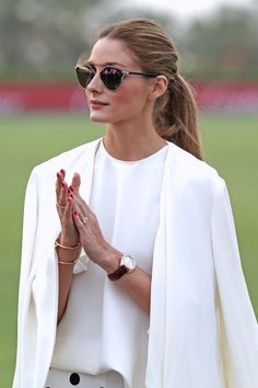 Accessorize like the queen herself, Olivia Palermo, with her new BaubleBar collaboration