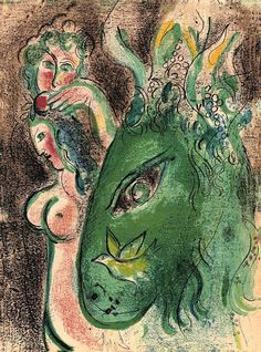 Paradise, Marc Chagall, 1960. Source.