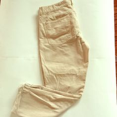 J. Crew pants Cute corduroy material. Roll up or down fit. Size 30. J. Crew Pants