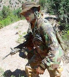 British SAS operator