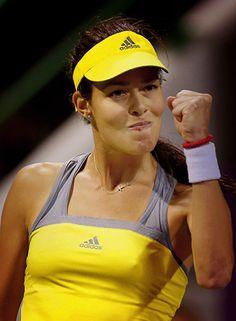 Ana Ivanovic @JugamosTenis #tennis #tenis #Adidas #ATP #Doha