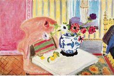 Henri Matisse Anemones and Chinese Vase 1922